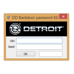 Detroit Diesel Backdoor Password Generator